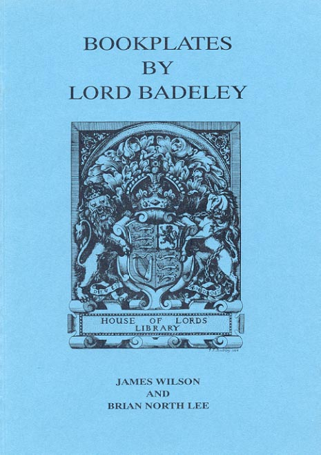 Cover of Bookplates by Lord Badeley