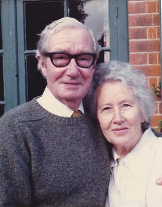 Arthur and Babs Dorling, taken at their Woodford Green house in the late 1970s