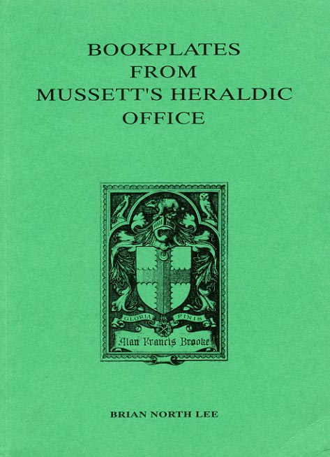 Cover of Bookplates from Mussett's Heraldic Office