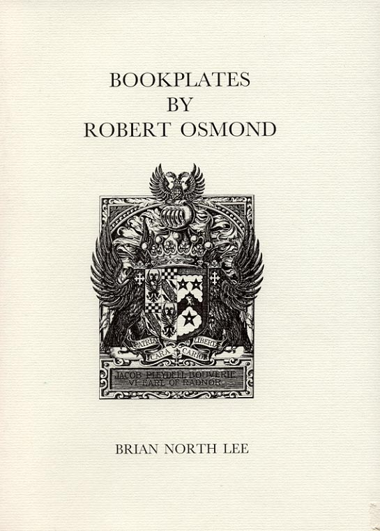 Cover of Bookplates by Robert Osmond