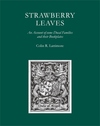 Strawberry Leaves. By Colin Lattimore, this is  the Society's members' book for 2014-2015. Copies now available, also in hard boards.