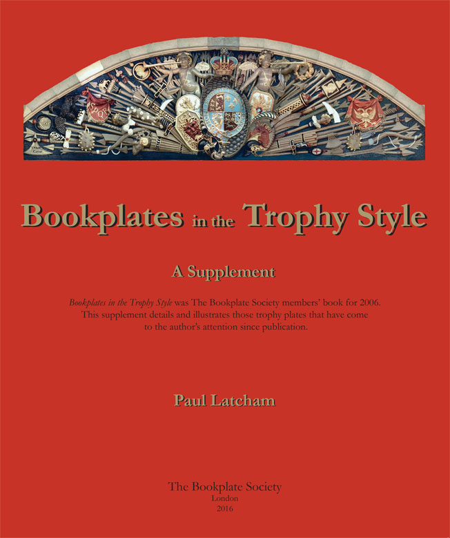 Cover of Bookplates in the Trophy Style